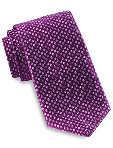 Robert Talbott Best of Class Micro Floral Silk Tie Purple by Robert Talbott