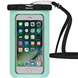 Waterproof Case,1 Pack iBarbe Universal Cell Phone Dry Bag Pouch Underwater Cover for Apple iPhone 7 7 plus 6S 6 6S Plus SE 5S 5c samsung galaxy Note 5 s8 s8 plus S7 S6 Edge s5 etc.to 5.7 inch,Teal