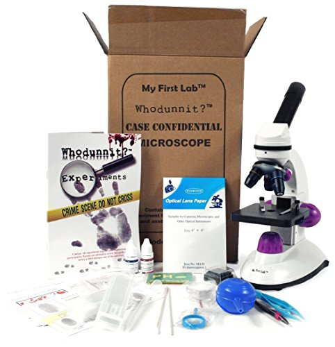 (My First Lab Whodunnit? Forensic Microscope Kit)