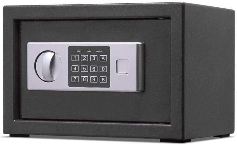 LZRZBH Caja fuerte digital de alta seguridad de acero de bloqueo de cajas fuertes y cajas de bloqueo, caja de dinero, cajas de seguridad joyería efectivo del arma Caja for el hogar,