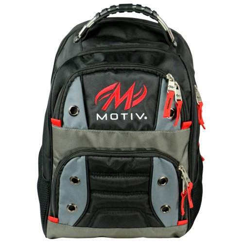 MOTIV Intrepid Backpack Bowling Bag Black by Motiv