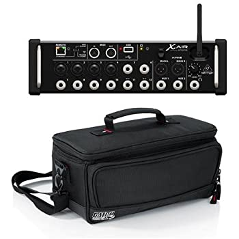 behringer x air xr12 12 input digital mixer with 4 programmable midas preamps for. Black Bedroom Furniture Sets. Home Design Ideas