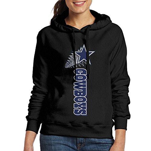 [SSDDFF Women's Dallas American Football Team Cowboys Hoodies Hoodie Size M Black] (Mens Dallas Cowboy Football Costumes)
