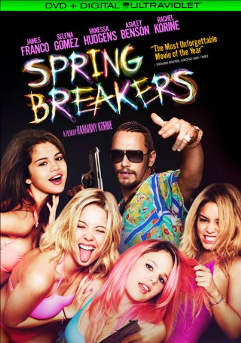 Spring Breakers (DVD + UltraViolet Digital - Gomez's Movie Selena New