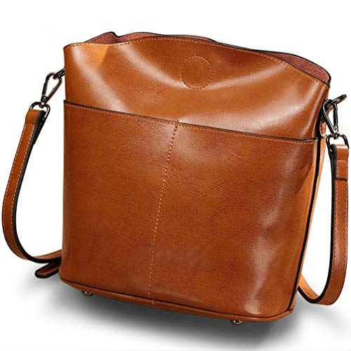 Glqym Handbags Spanning Ladies' Fashion Bag Cowhide Bags Shoulder Leather Skew Single PP5qwr1x