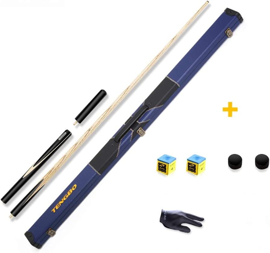 ZXH Pool Cues Black 8 Ash Wood Billar de Billar inglés para ...