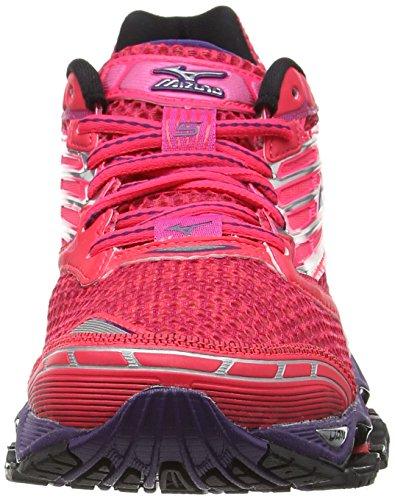Pink Donna mulberry 5 Scarpe Wave Pink diva Prophecy Corsa Purple Da Mizuno black CYqfg0wxW
