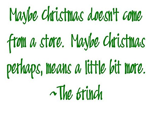 Star Hollow Candle Co Cranberry Maybe Grinch Quote Jar Candle, 16 oz