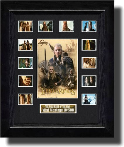 Lord of the Rings :The Fellowship of the Ring (2001) Filmcell, holographic serial numbered