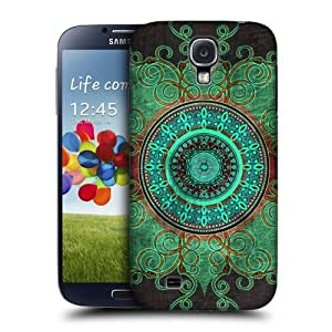 Head Case Designs Mandala Arabesque Pattern Protective Snap-on Hard Back Case Cover for Samsung Galaxy S4 I9500 by ruishername