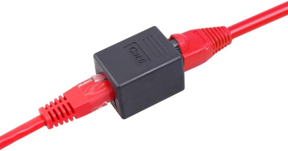 Maclean mctv de 811/Good Connection Coupleur RJ45/femelle vers femelle adaptateur r/éseau CAT6/r/éseau M-CAB /électriques 1