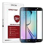 OMOTON Samsung Galaxy S6 Edge Screen Protector - Full Coverage Tempered Glass Screen Protector for Samsung Galaxy S6 edge with [9H Hardness] [Crystal Clear] [Scratch Resist] [No-Bubble] ,Black
