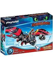 PLAYMOBIL Dragons Dragon Racing: Hicke och Tandlöse - 70727