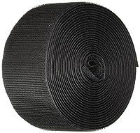 "VELCRO 1006-AP-PB/H Black Nylon Woven Fastening Tape, Standard Back Sew-On Hook Only, 2"" Wide, 15' Length"