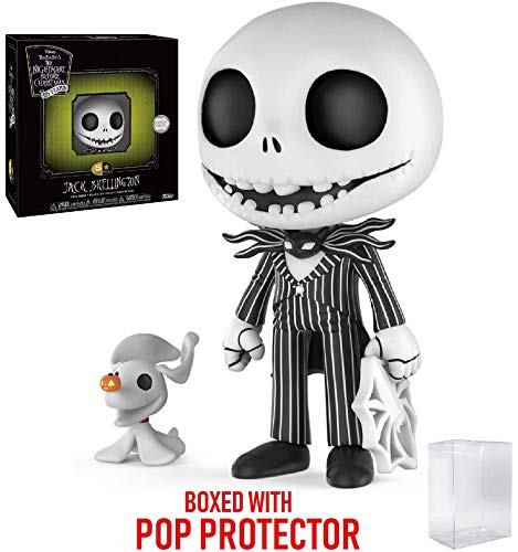 Funko 5 Star Disney: The Nightmare Before Christmas - Jack Skellington Vinyl Figure (Includes Pop Box Protector Case)