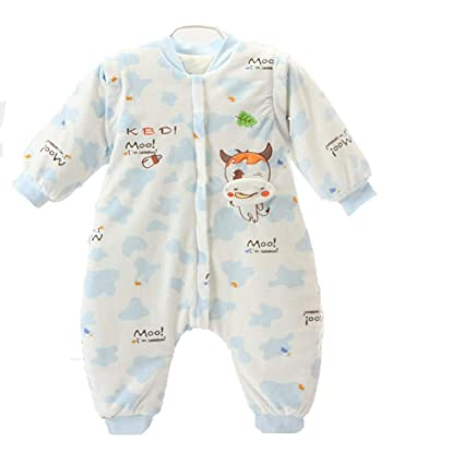 Gleecare Saco de Dormir para bebé,Otoño-Invierno 0-3 años de Edad