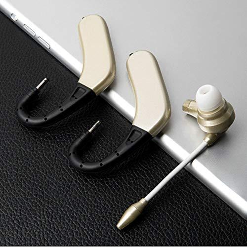 yunbox299 Earphone Earbud Headset Headphone M8 Bluetooth Wireless Earhook Sports Business Ear Bud Earphone Headphone Black by yunbox299 (Image #7)