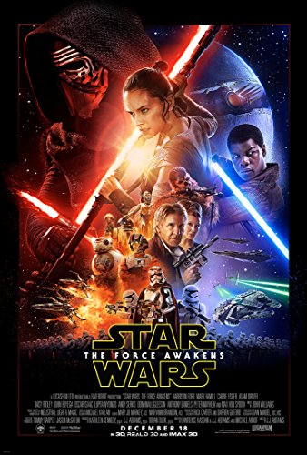 Star Wars Episode VII Force Awakens (2015) Movie Poster 24x36 inches by Movie Poster