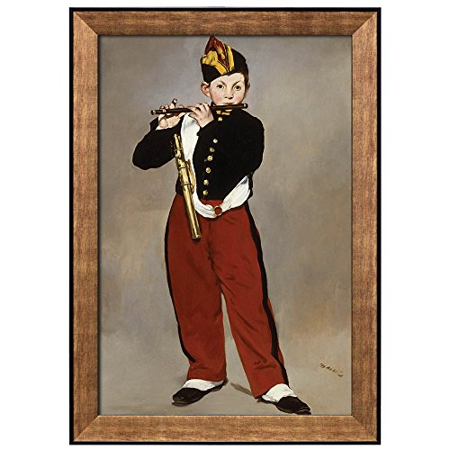 Young Flautist (or The Fifer) by Edouard Manet Framed Art
