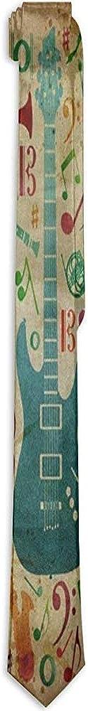 Sherly Yard Die Krawatten-Musik-Instrument-Weinlese-Hals-Krawatte Mens wundervolle Krawatte f/ür Mann