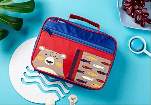3 School Lunch Bag Tote Bag Lunch Bag for Kids Boys Girls Lunch Box Bag Insulated Lunch Container