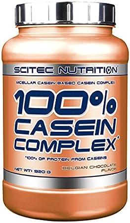 Scitec Nutrition Casein Complex Proteína, Chocolate Belga - 920 g