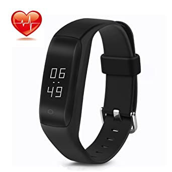 Fitness Tracker Lendoo Smart Bracelet With Heart Rate Monitor Touch