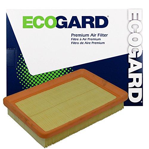 ECOGARD XA5395 Premium Engine Air Filter Fits Hyundai Elantra/Kia Spectra/Hyundai Tiburon/Kia (2002 Hyundai Elantra Engine)