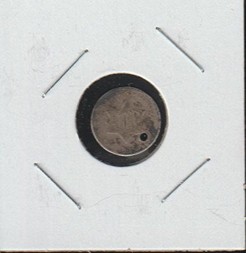 1852 Silver Three-Cent Piece (Trime) (1851-1873) Three-Cent (Silver Three Cent Piece Good)
