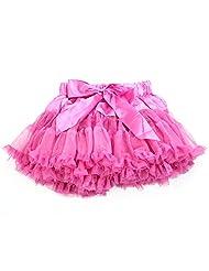 Padoora Baby Girl Kids Dance Party Pretty Bow Mini Skirts Princess Skirt Tutu Cake Dress(HPL)