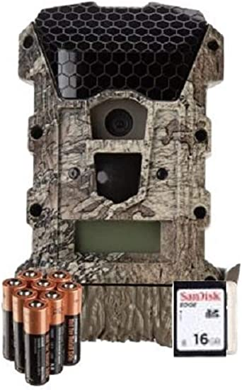 3 Pack 8GB SD Card /& Batteries Wildgame Innovations Mirage 18 MP Trail Camera