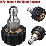Sunshine Klai 1Pcs High Pressure Washer Quick Connect M22-14mm X 1/