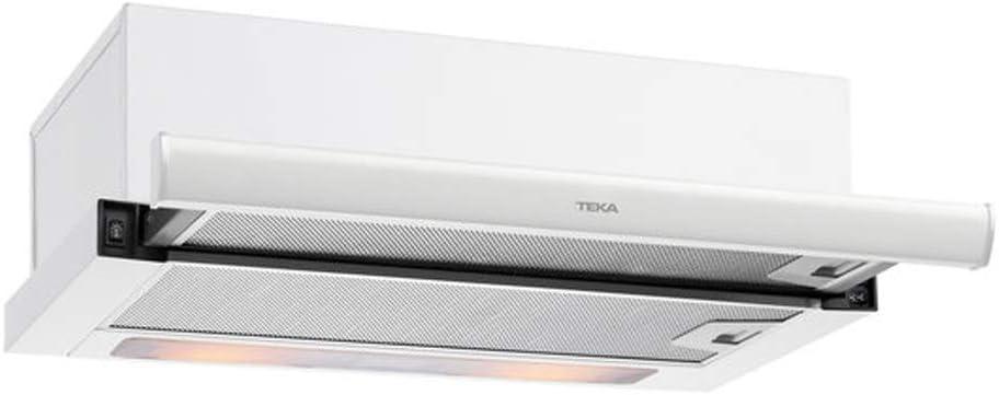 Teka extensible | Modelo TL 6420 | Campana Extraible con 2 lamparas LED | Tres Velocidades | Ca,pana con dos motores | Color blanco, 28 W, 69 Decibelios, Acero Inoxidable, 3: Amazon.es: Grandes electrodomésticos