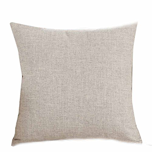 AfterSo Home Christmas Pillow Covers 18x18 Decorations Indoor Gift Throw Pillow ()