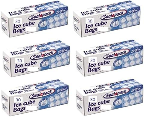 Sealapack - Bolsas para congelar cubitos de hielo, 30 bolsas, 800 ...