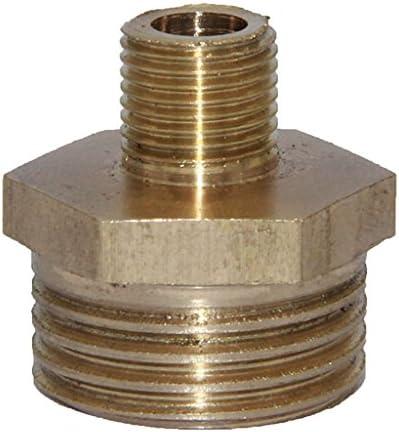 6サイズ選べる ダブルエンドジョイント 配管 パイプ接続 真ちゅう継手 使いやすい - 1-2〜1-8