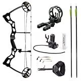 Leader Accessories Compound Bow Hunting Bow 50-70lbs with Max Speed 310fps (Black With Kit) Review