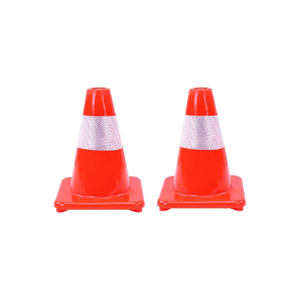 Size : 3pcs se/ñales de tr/áfico de Control de tr/áfico Cono Seguridad Vial H-30cm Conos de f/útbol XJLG Conos Conos de Advertencia Conos de Seguridad
