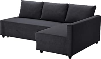 The Dark Gray Friheten Thick Cotton Sofa Cover Replacement is Custom Made for IKEA Friheten Sofa Bed, Or Corner, Or Sectional Slipcover. Sofa Cover ...