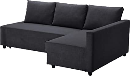 The Dark Gray Friheten Thick Cotton Sofa Cover Replacement Is Custom Made  For IKEA Friheten Sofa