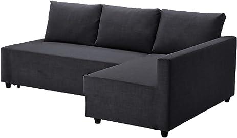 The Dark Gray Friheten Thick Cotton Sofa Cover Replacement Is Custom Made  For Ikea Friheten Sofa