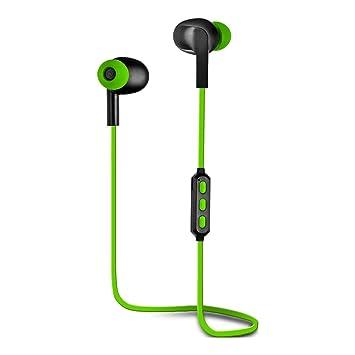 Woxter Airbeat BT-5 Green- Auriculares estreos inalmbricos deportivos(Bluetooth 4.2, A2DP1