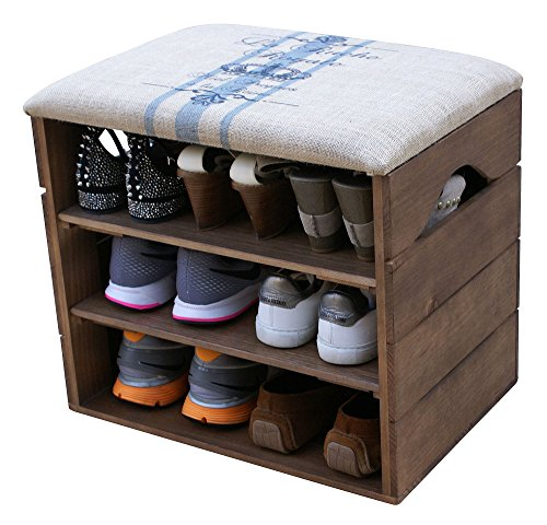 5 cube oak storage unit - 5