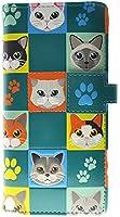 Shagwear Cat Checkers Wallet Teal