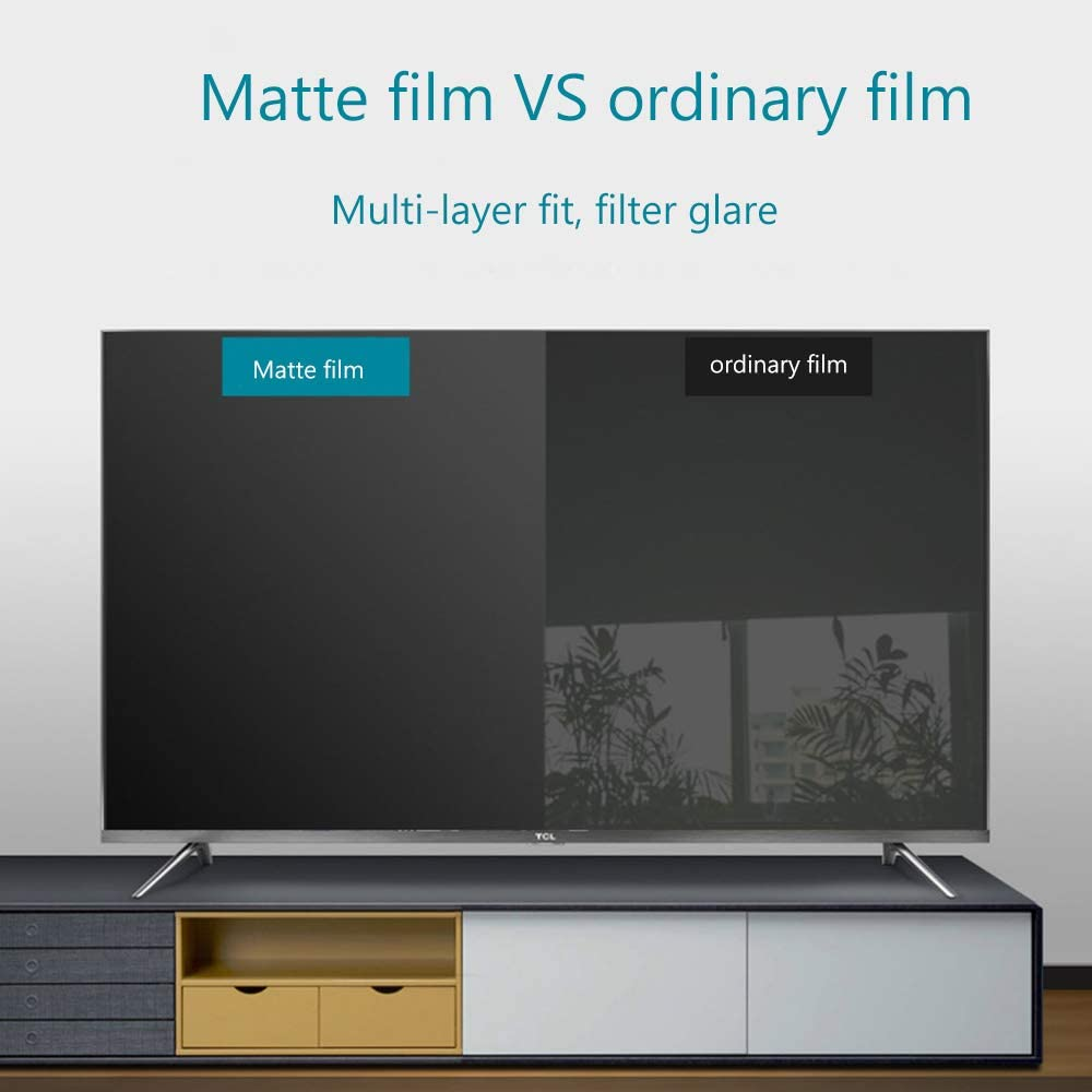 Anti Glare Blocks Excessive Harmful Blue Light Reduce Eye Fatigue and Eye Strain Anti Blue Light Screen Protector for 40 Inches TV