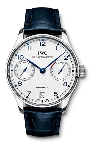 - IWC Men's Swiss Automatic Watch with Stainless Steel Strap, Black (Model: IW500107)