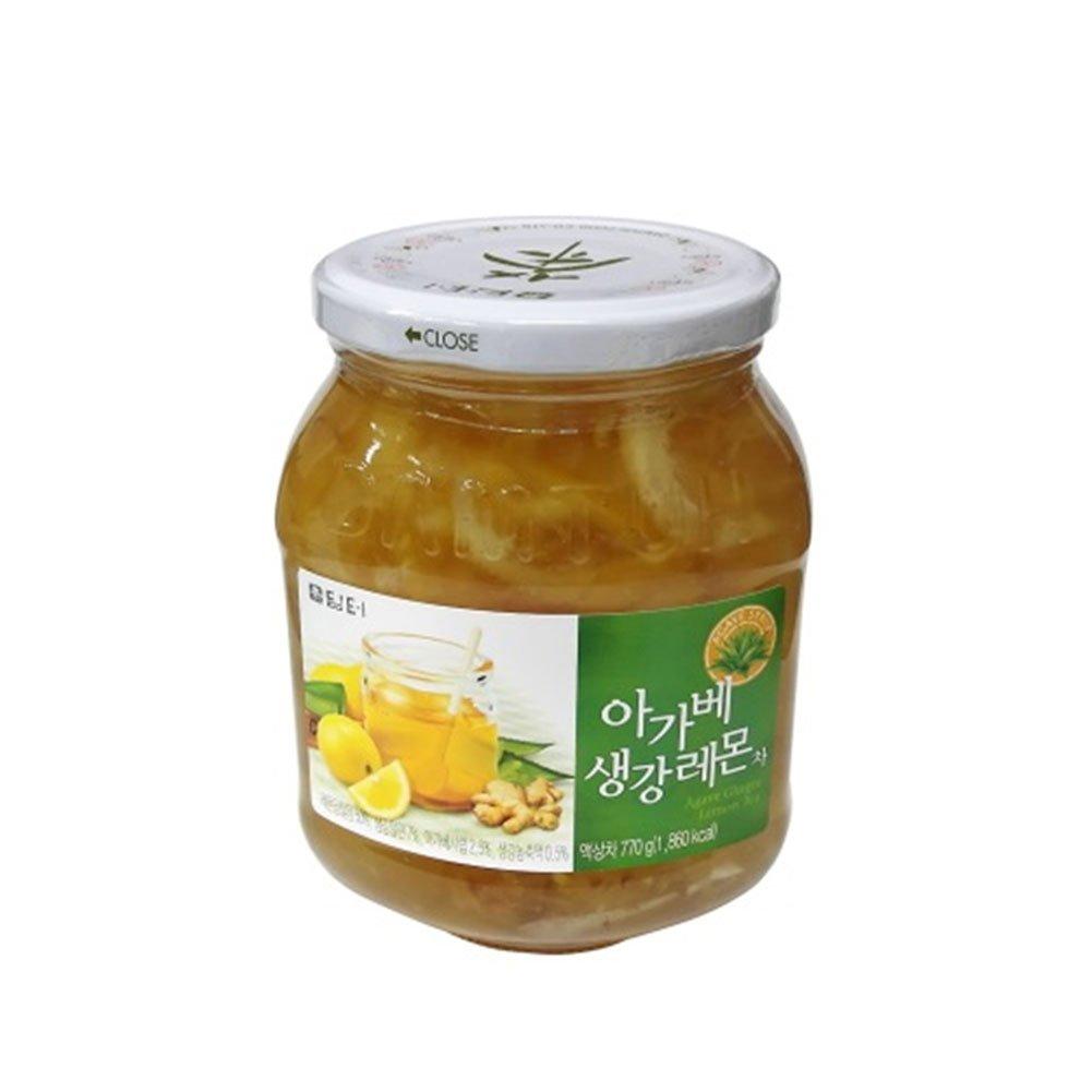 DAMTUH Agave Ginger Lemon Tea, Lemon Ginger Tea with Agave, 27.16 Oz (770g)