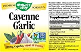 Natures Way Cayenne Pepper and Garlic Capsule, 530 Mg - 100 per pack -- 6 packs per case.