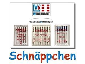 Original W6 Wertarbeit Nähmaschinennadel Set