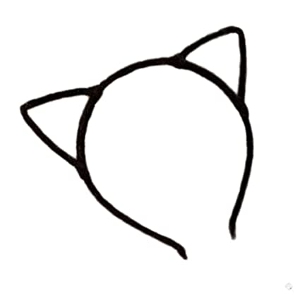 Kanggest 1 Piezas Diademas de Orejas de Gato Christmas Halloween Pelo de la Venda Horquillas Pinzas